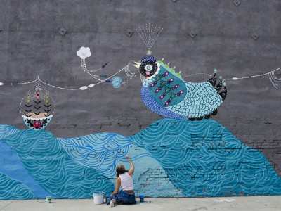 Milwaukee's East Side to be Transformed by Street Art Mural Installations