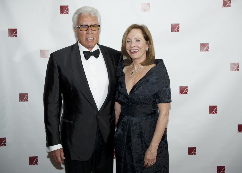 Donald and Donna Baumgartner at the Florentine Opera Company Grammy Party in 2012.