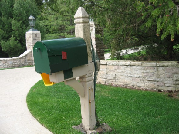 Mailbox. Photo by Michael Horne.