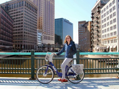 Bublr of the Month: Megan Gaus of VISIT Milwaukee