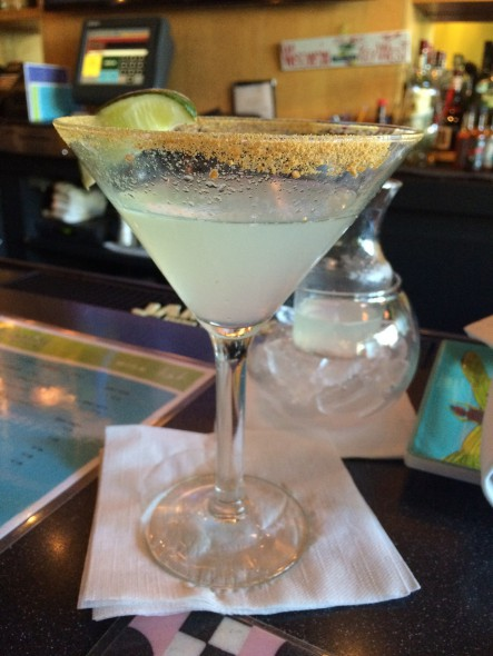 Key Lime Martini. Photo by Joey Grihalva.