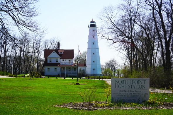 North Point Light Station. Photo courtesy of MMSD.