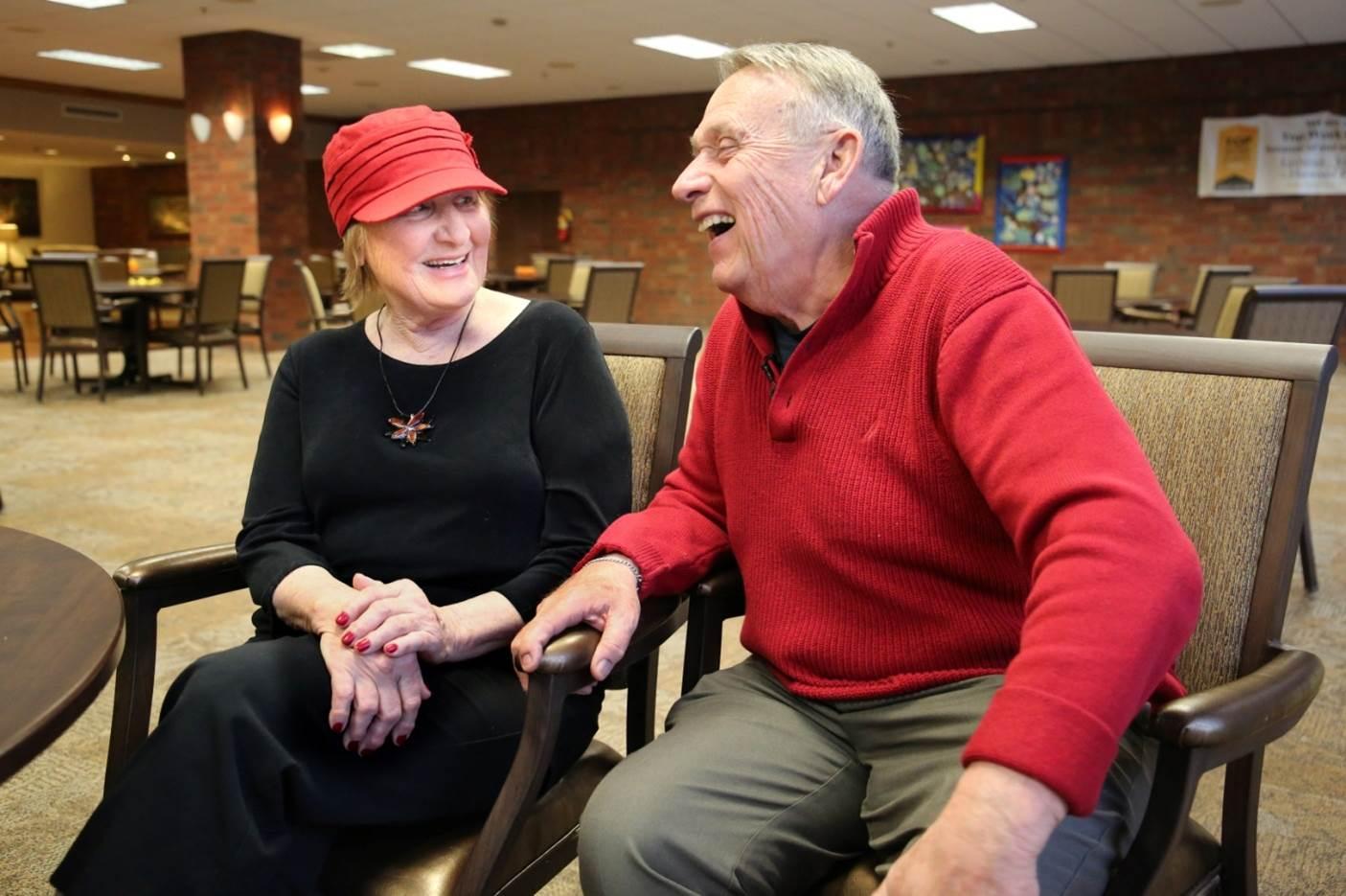 Elaine and Marty Schreiber. Photo courtesy of Martin Schreiber & Associates, Inc.