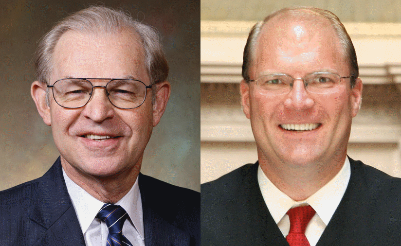 Wisconsin Supreme Court justices David Prosser and Michael Gableman.