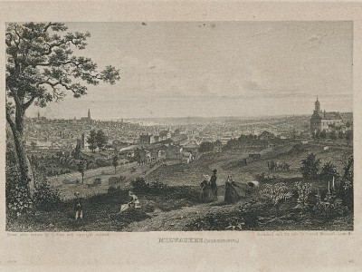 Yesterday's Milwaukee: The Old City, About 1858