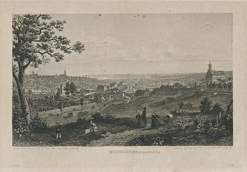 The Old City, About 1858. Image courtesy of Jeff Beutner.