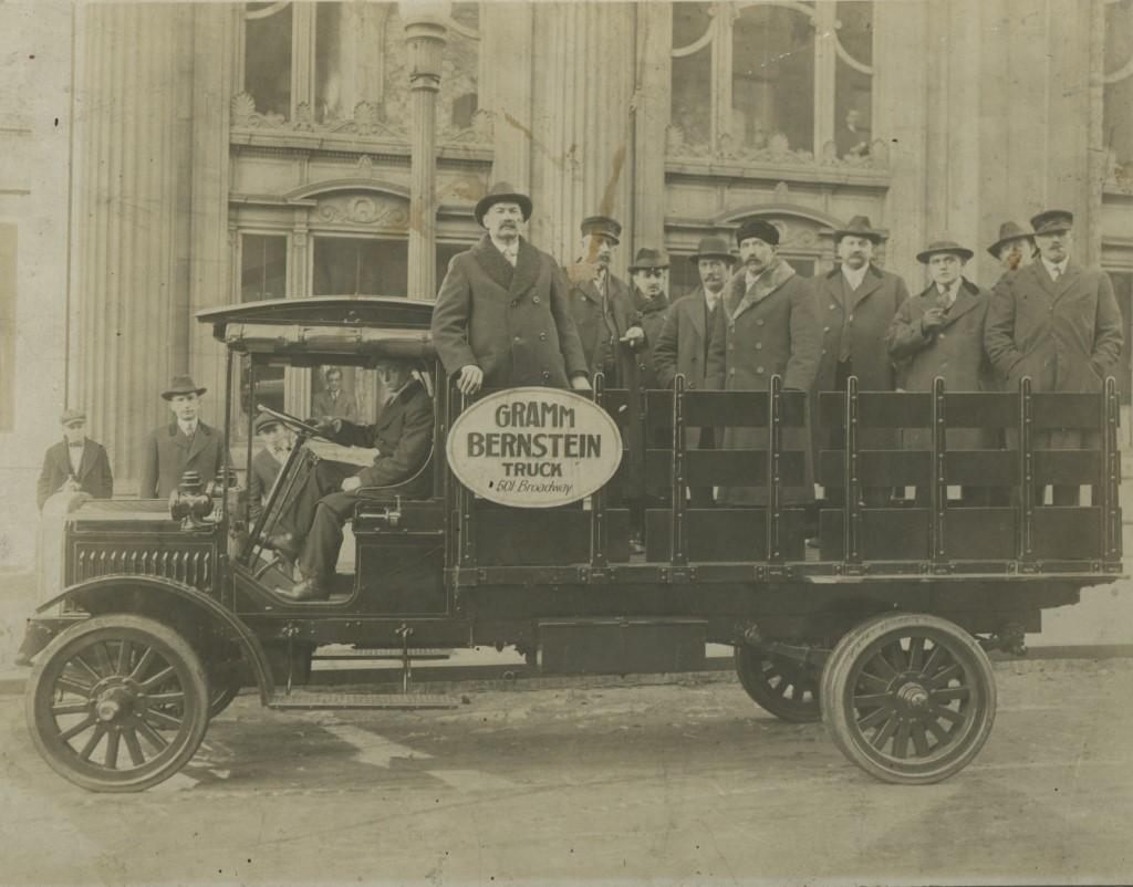 Gramm-Bernstein Delivery Truck, c. 1916. Image courtesy of Jeff Beutner.