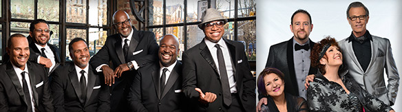 The Manhattan Transfer meets Take 6 in The Summit Concert Coming to the Marcus Center on Wednesday, October 26