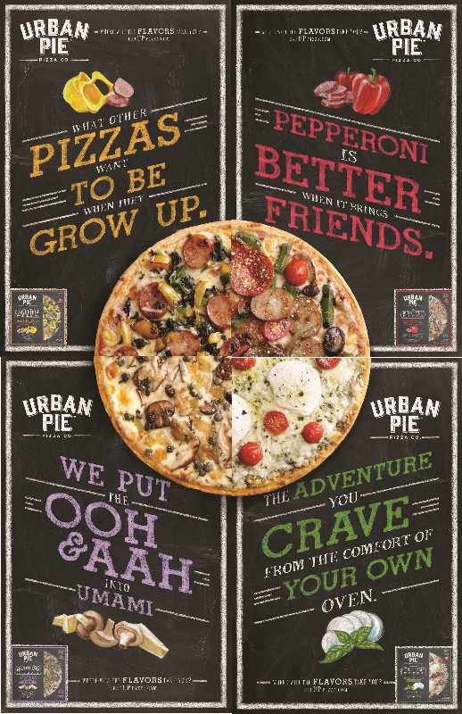 Palermo's selects Laughlin Constable to cook up its first national campaign for Urban Pie pizzas