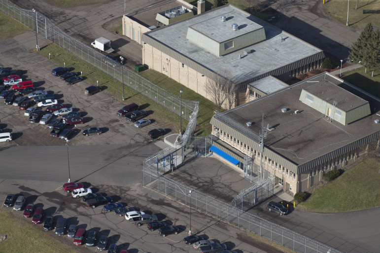 The complex including Lincoln Hills School for Boys and Copper Lake School is seen in this 2015 file photo. Critics charge that a trauma-informed care approach led to security breakdowns there, but advocates say Lincoln Hills and Copper Lake failed to fully implement the program. Photo by Mark Hoffman of the Milwaukee Journal Sentinel.