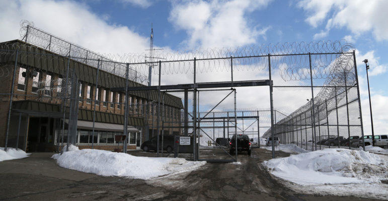 A security fence surrounds the entrance to the Lincoln Hills School for Boys and Copper Lake School for girls complex in rural Irma, seen in this file photo. The two schools are under federal investigation for alleged abuse and violations of the civil rights of juvenile inmates housed there. Photo by Dan Young of the USA TODAY NETWORK-Wisconsin.