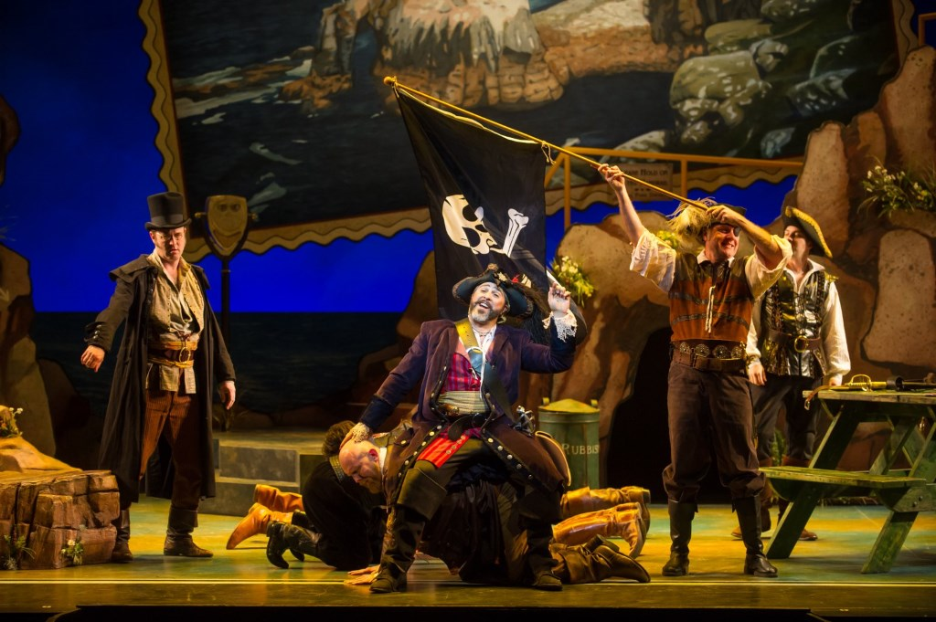 Cast of Pirates of Penzance. Photo by Mark Frohna.