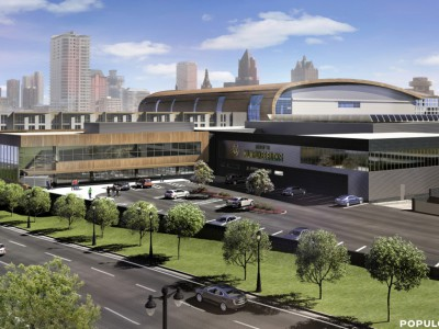Eyes on Milwaukee: Bucks Arena Design Approved