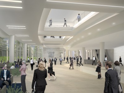 Northwestern Mutual Joined by Two Dozen Milwaukee and Wisconsin-based Companies for Interior Work on Tower and Commons