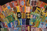 Wisconsin Lottery 2015 scratch tickets. Photo from Facebook.