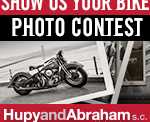 Hupy Motorcycle Photo Contest Ad