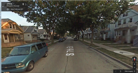 A Google Maps view of 7th street from 2007.