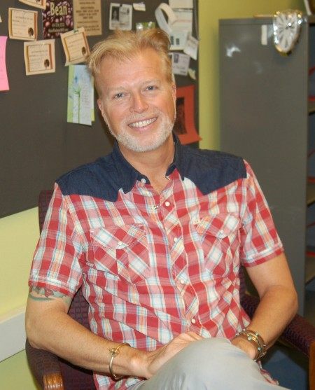 Allan Laird, who has served as a special education teacher at Alliance, will assume the role of lead teacher. Photo by Edgar Mendez.