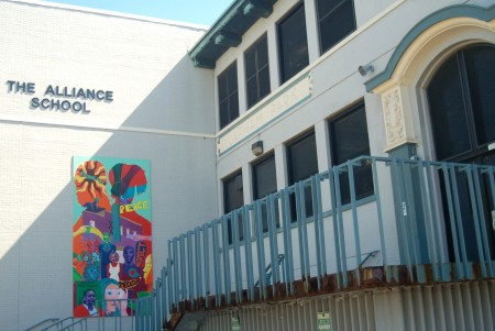 The Alliance School of Milwaukee, located at 850 W. Walnut St., was named one of the 41 most innovative schools in America in 2015. Photo by Edgar Mendez.