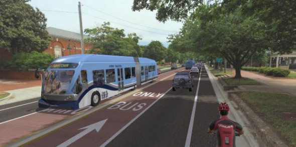 BRT Rendering. Rendering from of MCTS.