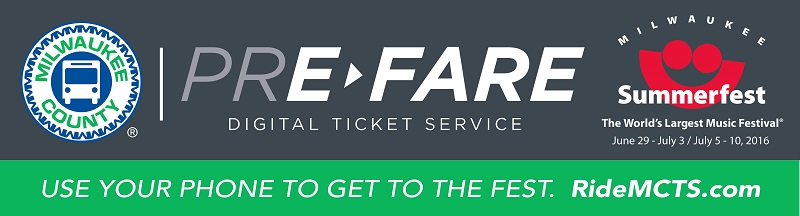 The Clock is Ticking – Only Five Days Left to Get a FREE Summerfest Admission with Purchase of MCTS Pre>Fare Ticket