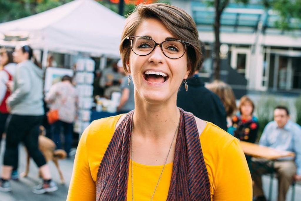 Caitlin Taylor. Photo courtesy of NEWaukee.