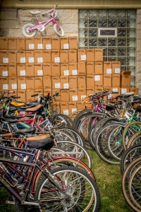 LOTS of bikes and locks from Master Lock to give away…