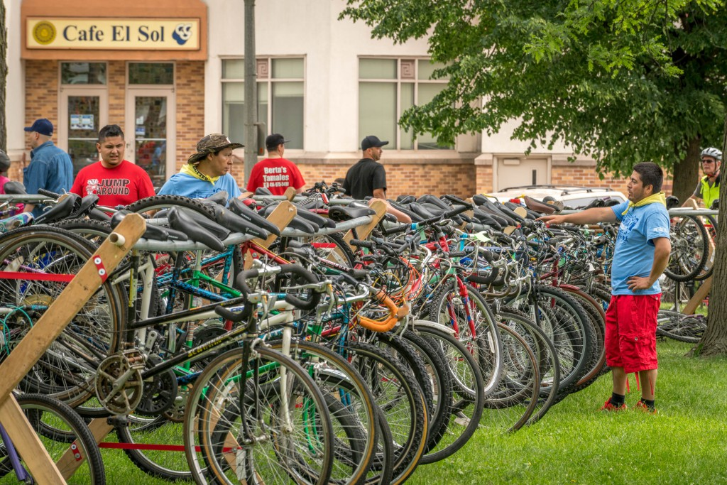 LOTS of bikes to give away!