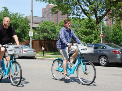 "Ride an ""Urban Milwaukee"" Bublr Bike"