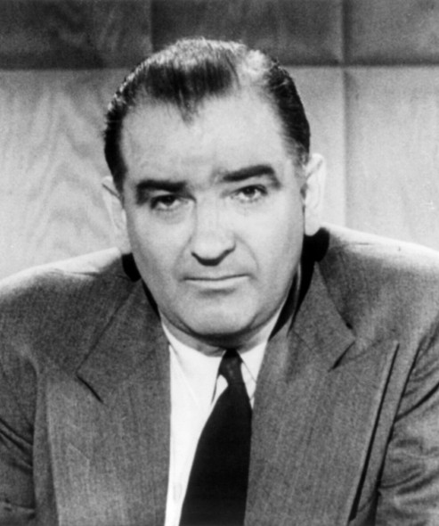 Joseph McCarthy. Photo in the Public Domain.