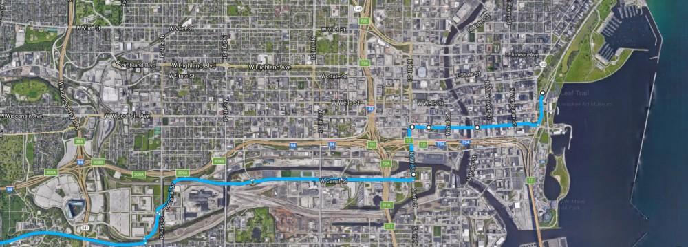 Milwaukee-Waukesha Route