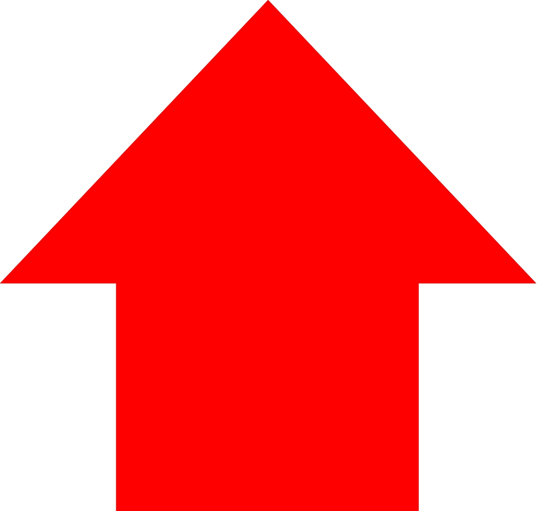 Red Up Arrow