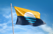 Peoples' Flag of Milwaukee. Photo from www.milwaukeeflag.com.