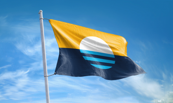 People's Flag of Milwaukee. Photo from www.milwaukeeflag.com.