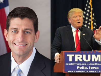Trump Visit Has WISGOP Crying Crocodile Tears for Sacred Cow Paul Ryan