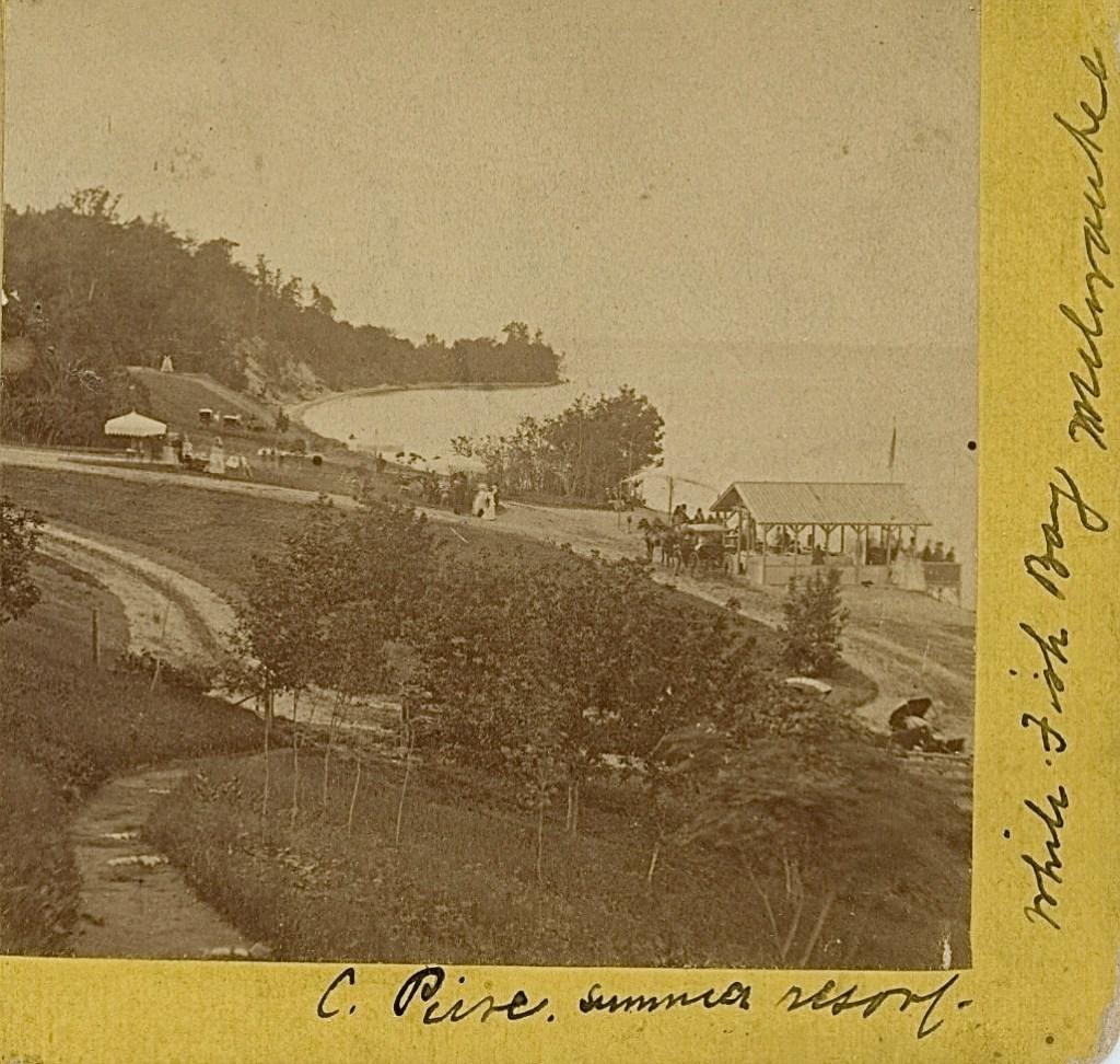 The Future Whitefish Bay, 1870s. Image courtesy of Jeff Beutner.