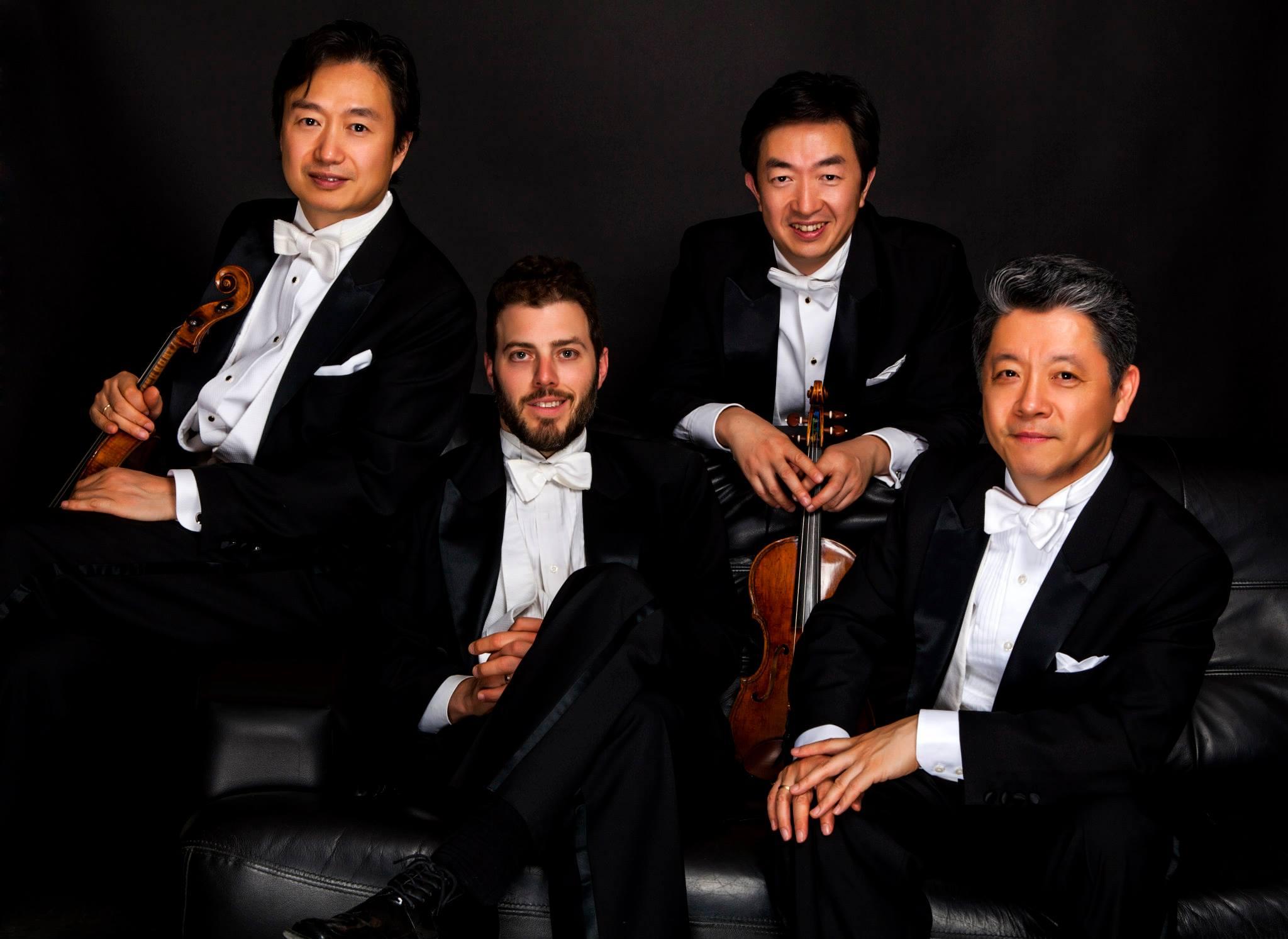 Shanghai Quartet. Photo from Facebook.
