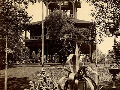 Yesterday's Milwaukee: Schlitz Garden's Observation Tower, 1880s