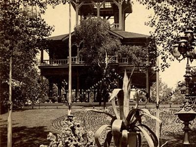 Yesterday's Milwaukee: Schlitz Garden's Observation Tower, 1880s