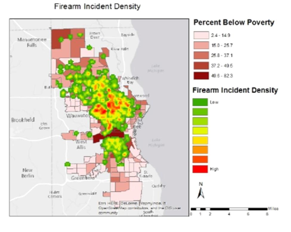 Firearm Incident Density.