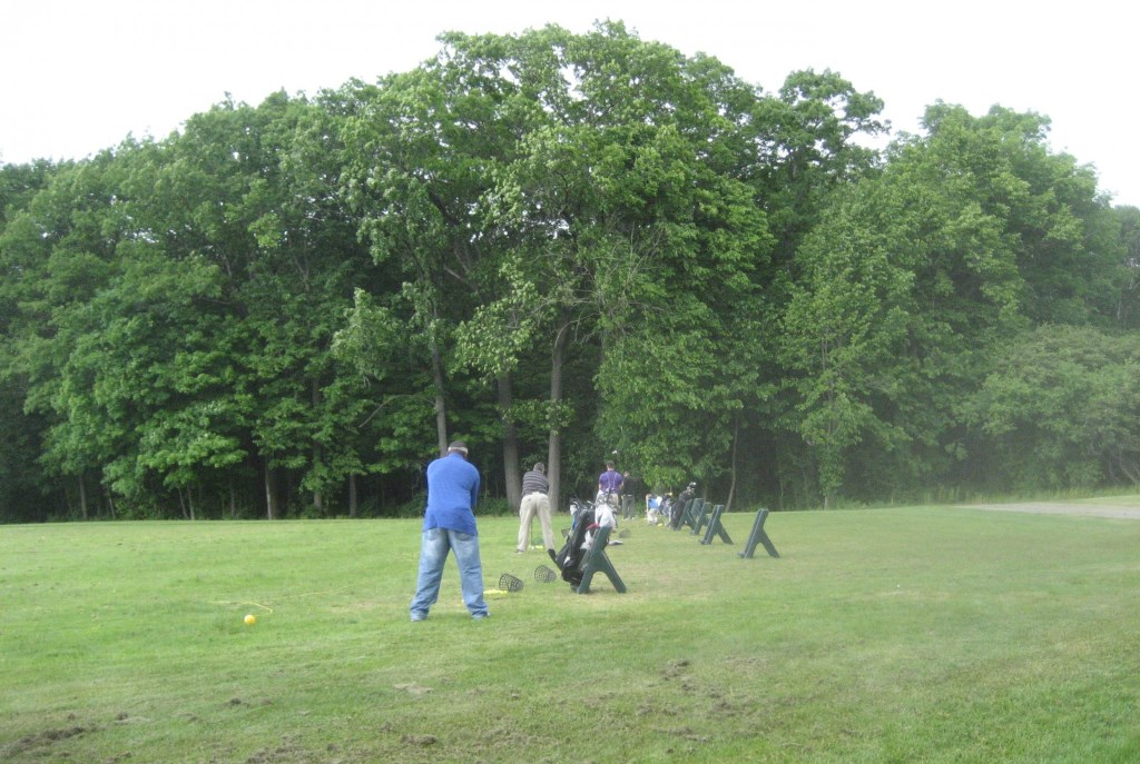 Driving range at Brown Deer Park. Photo by Michael Horne.