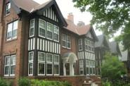 Atty Mark Thomsen's Tudor Mansion. Photo by Michael Horne.