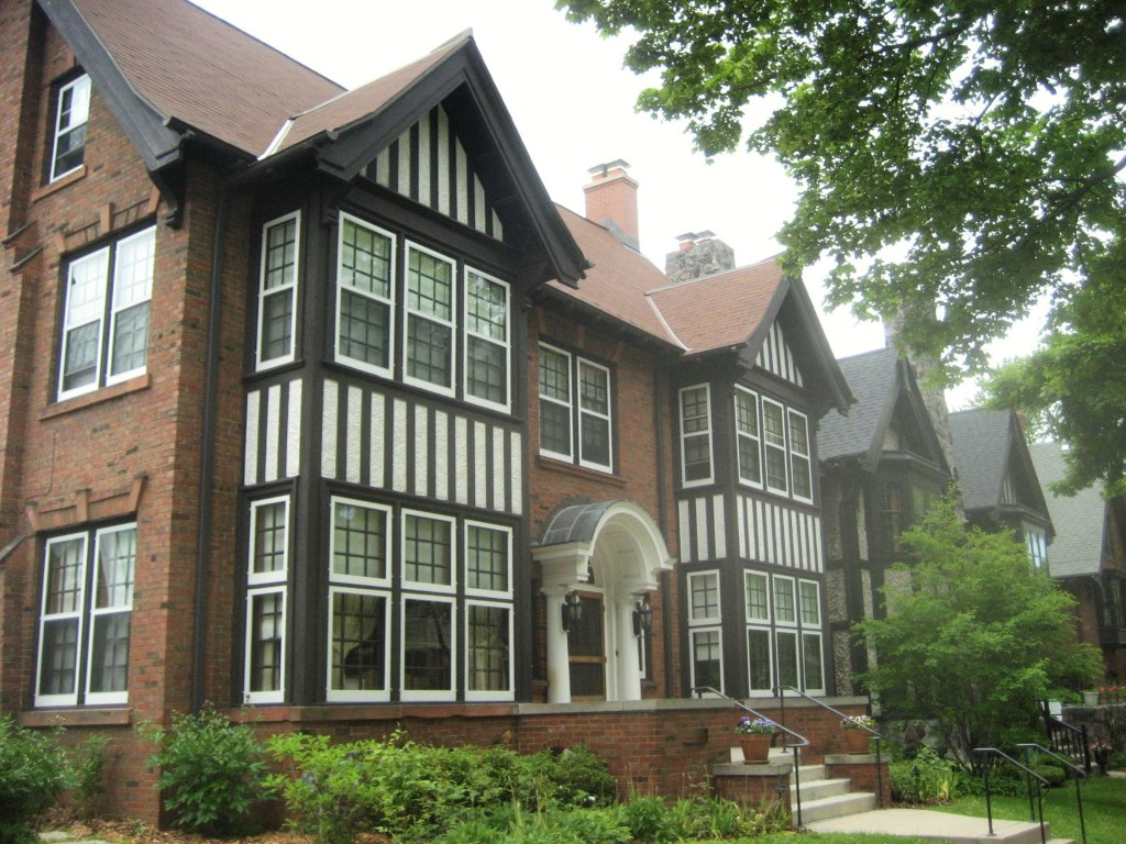 Atty Mark Thomsen's Tudor Mansion. Photo by Michael Horne.
