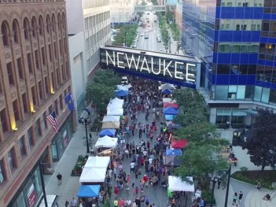NEWaukee's Night Market Returns to West Wisconsin Avenue