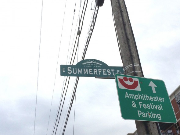 Summerfest Place. Photo by Joey Grihalva.