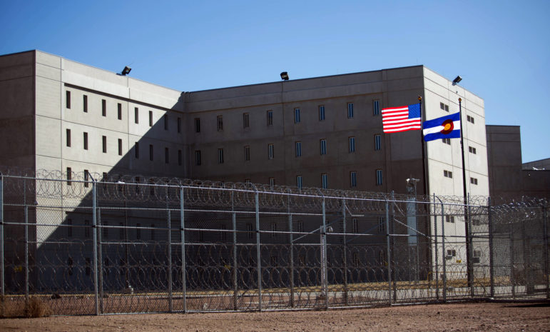 This $200 million prison in Ca–ñon City, Colorado was opened in 2010 exclusively to house prisoners in solitary confinement. It is now vacant because of the Colorado Department of Corrections' decision to severely curtail use of isolation. Officials are considering turning the 948-bed facility into a reentry center to help inmates prepare for life after prison. Photo by Jen Friedberg for the Wisconsin Center for Investigative Journalism.
