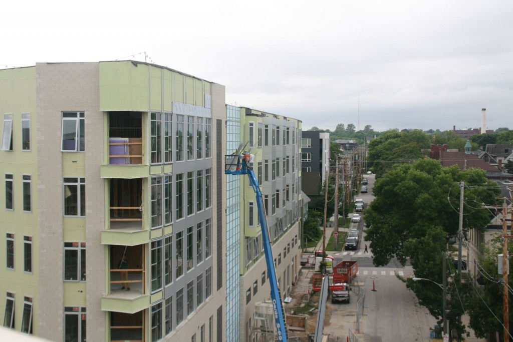 Greenwich Park Apartments Construction