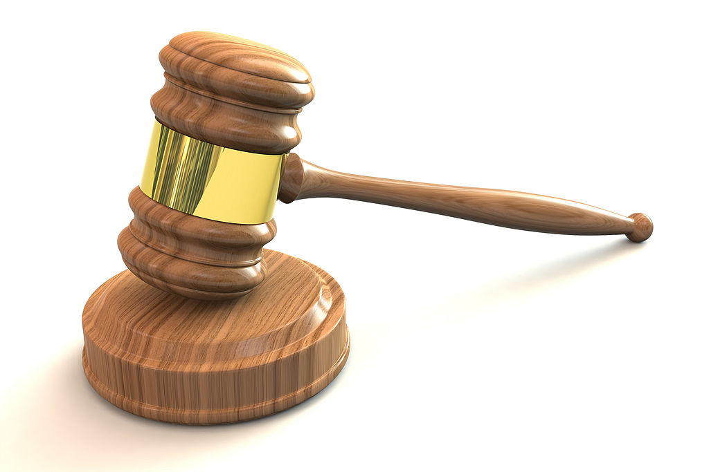 Gavel. Image by StockMonkeys.com (Flickr: 3D Judges Gavel) [CC BY 2.0 (http://creativecommons.org/licenses/by/2.0)], via Wikimedia Commons.