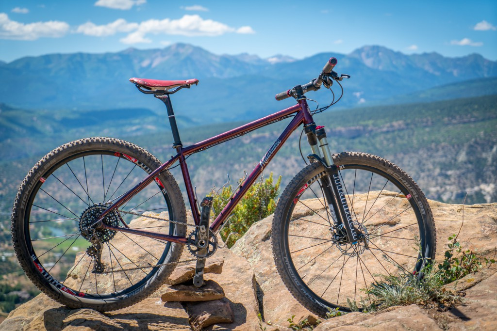 My Milwaukee Bicycle Company 29er on the Skyline Trail over Durango. Look for a full review of the bike in the next issue of our magazine.