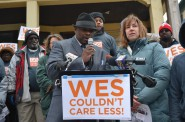 """Wes Couldn't Care less!"" Photo courtesy of Common Ground."